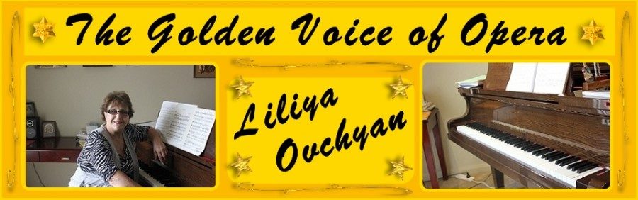 The golden voice of Opera_Liliya Ovchyan